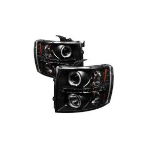 Spyder Auto PRO-YD-CS07 -HL-BSM Chevy Silverado