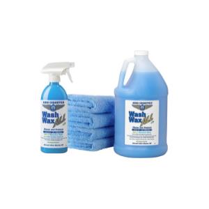 Wet or Waterless Car Wash Wax