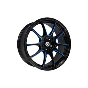 Konig Illusion Black Blue Wheel