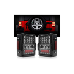 how to install led tail lights on jeep wrangler